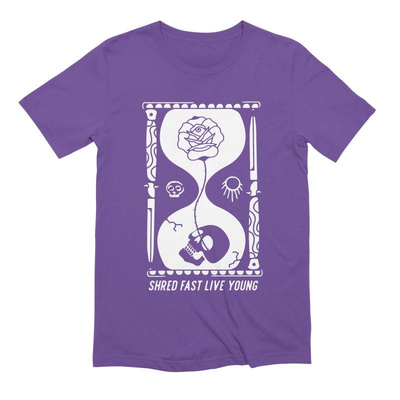 White Hourglass Men's Extra Soft T-Shirt by Broken & Coastal