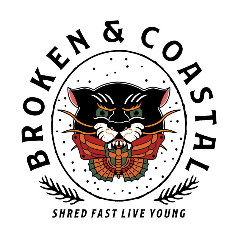 Broken Panther Men's Tank by Broken & Coastal