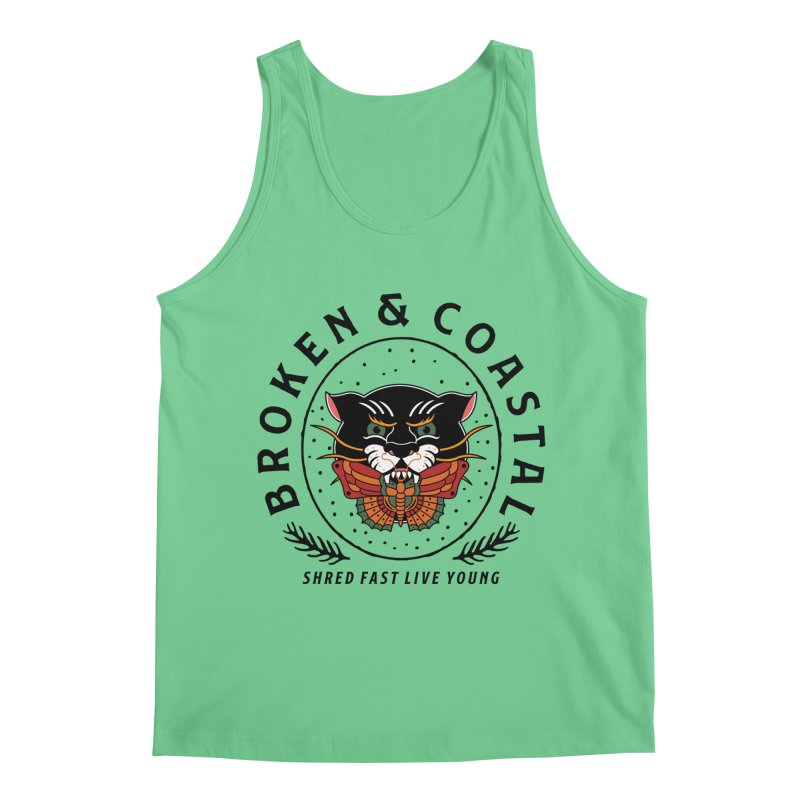 Broken Panther Men's Regular Tank by Broken & Coastal