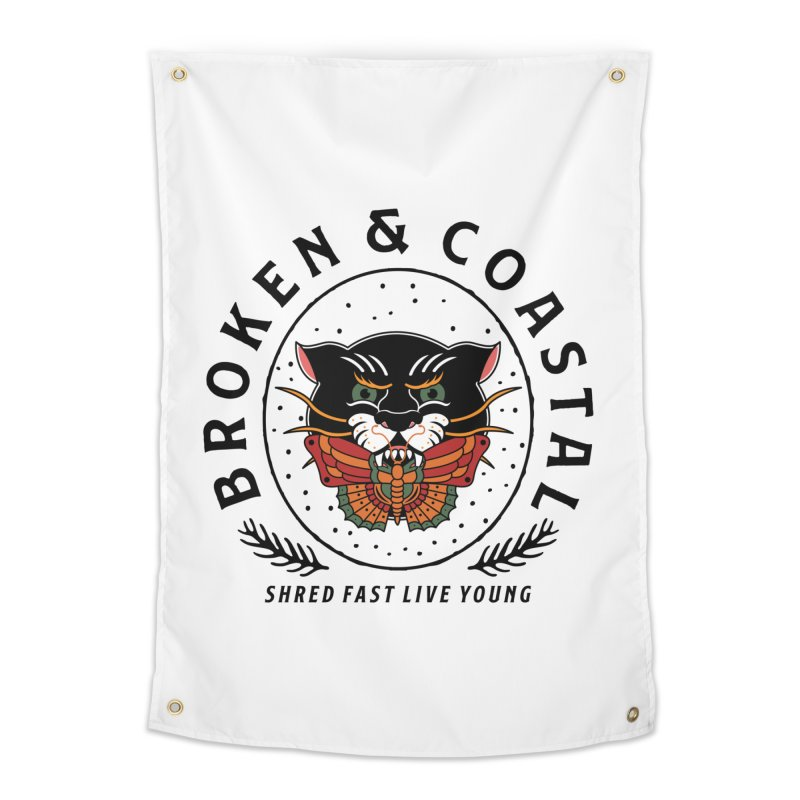 Broken Panther Home Tapestry by Broken & Coastal