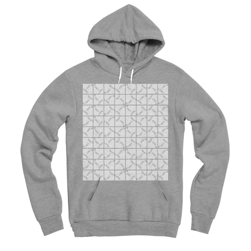 Ferns and Berms Pattern Men's Pullover Hoody by Broken & Coastal
