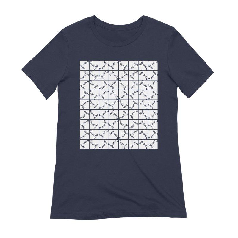 Ferns and Berms Pattern Women's Extra Soft T-Shirt by Broken & Coastal