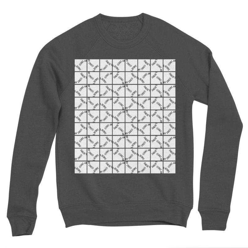 Ferns and Berms Pattern Women's Sponge Fleece Sweatshirt by Broken & Coastal