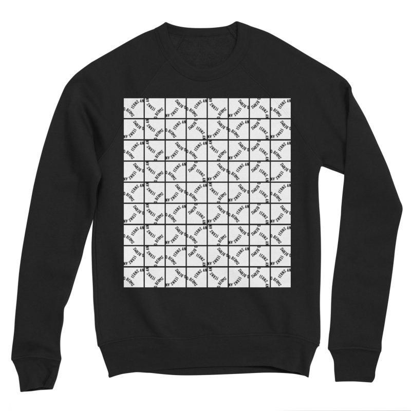 Ferns and Berms Pattern Men's Sponge Fleece Sweatshirt by Broken & Coastal