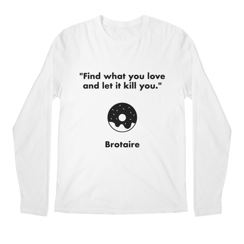 Donut Men's Regular Longsleeve T-Shirt by Brotaire's Shop
