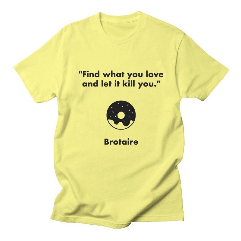 Donut Men's T-Shirt by Brotaire's Shop