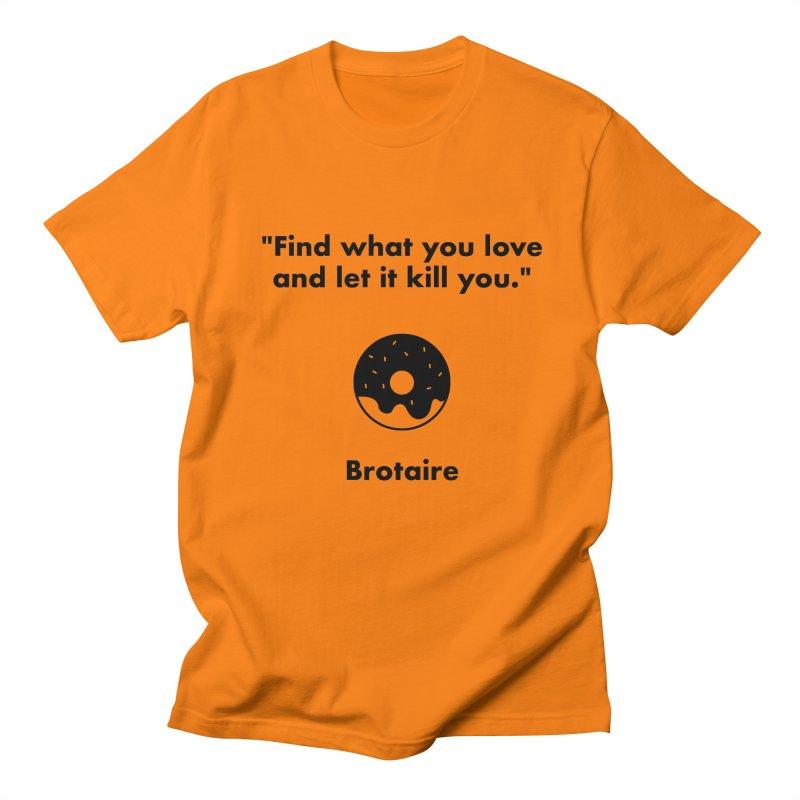 Donut Men's Regular T-Shirt by Brotaire's Shop