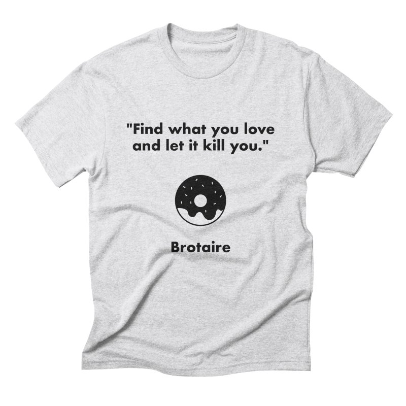Donut Men's Triblend T-Shirt by Brotaire's Shop