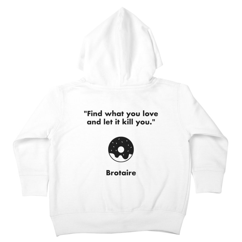 Donut Kids Toddler Zip-Up Hoody by Brotaire's Shop