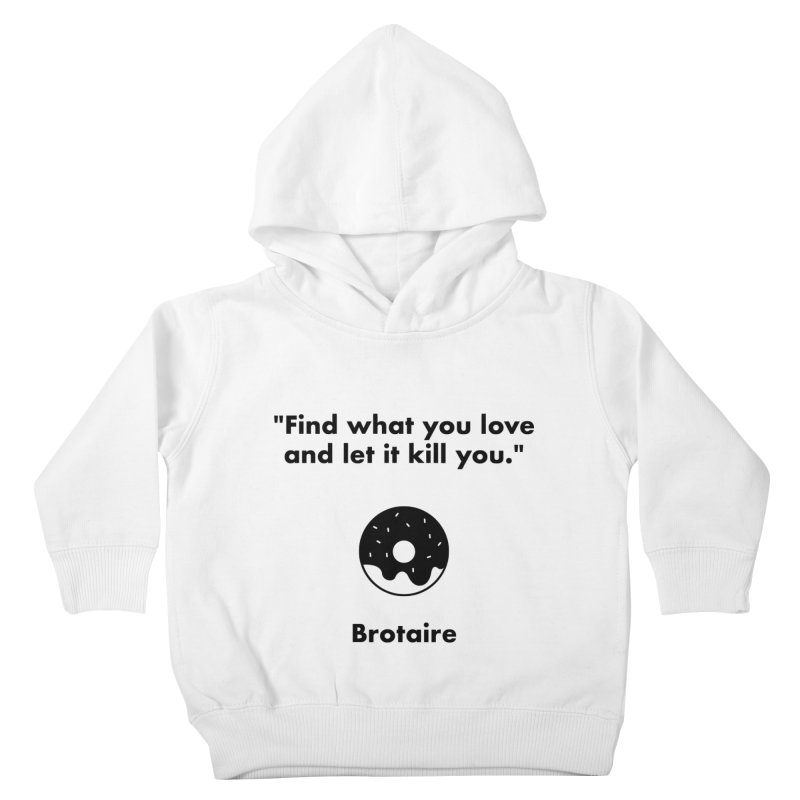 Donut Kids Toddler Pullover Hoody by Brotaire's Shop