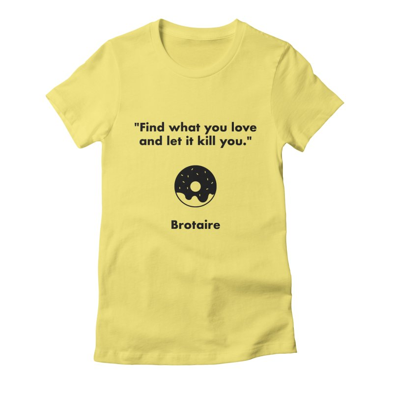 Donut Women's T-Shirt by Brotaire's Shop