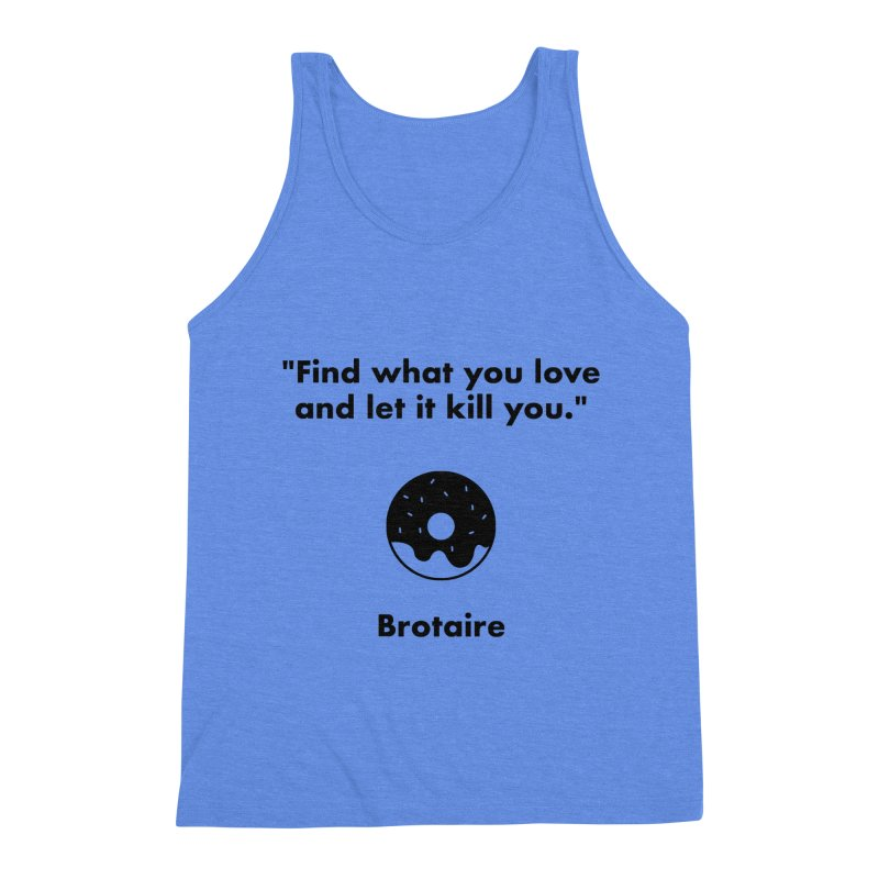 Donut Men's Triblend Tank by Brotaire's Shop