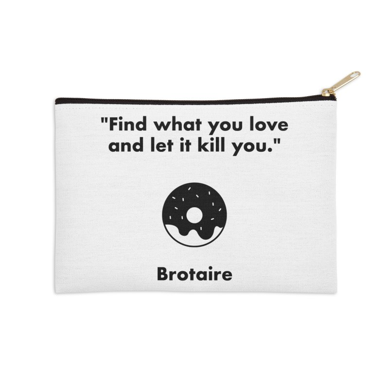 Donut Accessories Zip Pouch by Brotaire's Shop