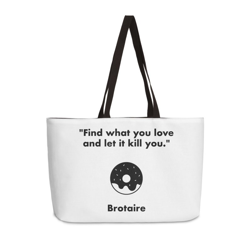 Donut Accessories Weekender Bag Bag by Brotaire's Shop