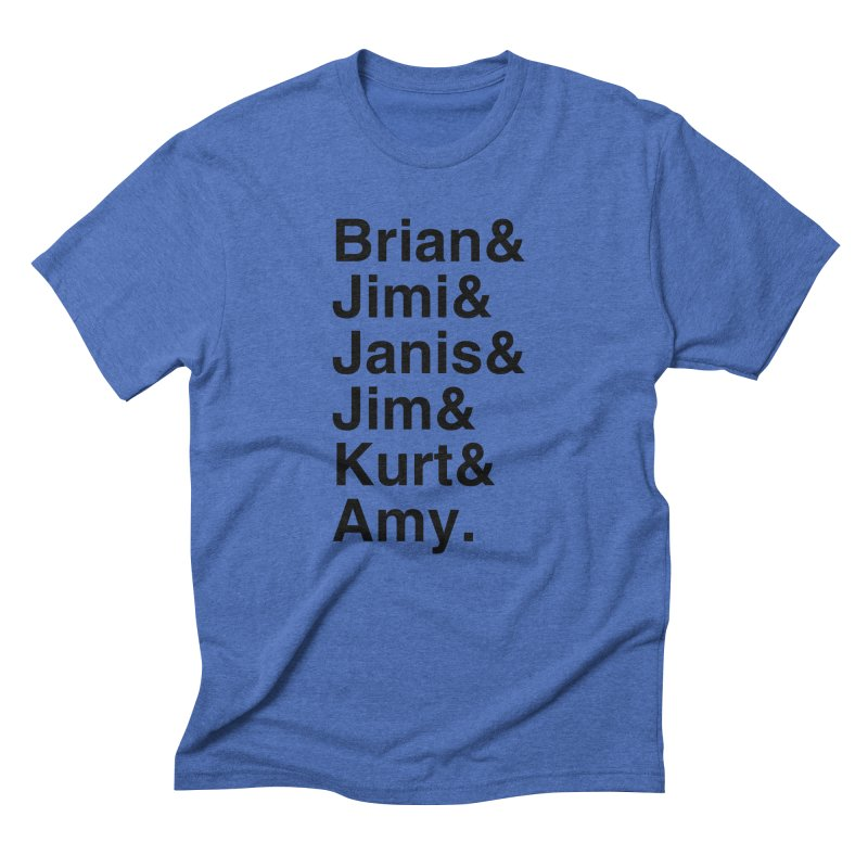 27 Club Men's Triblend T-Shirt by Brother Adam Design