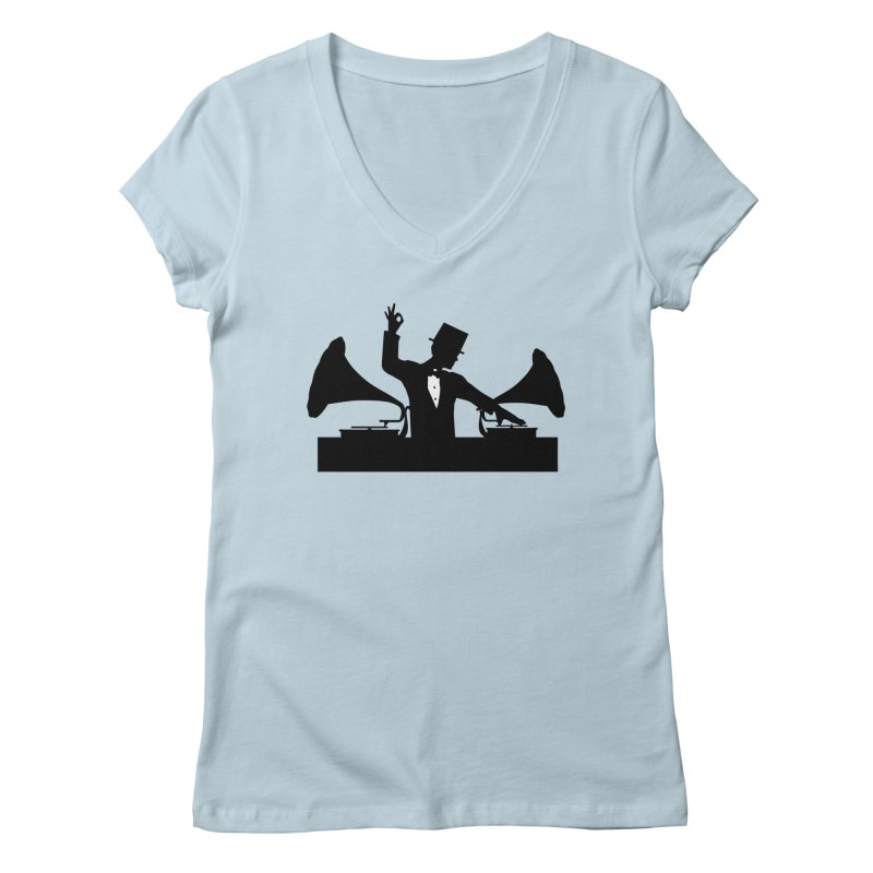Let's Party Like It's 1923... Sweet! Women's V-Neck by Brother Adam Design