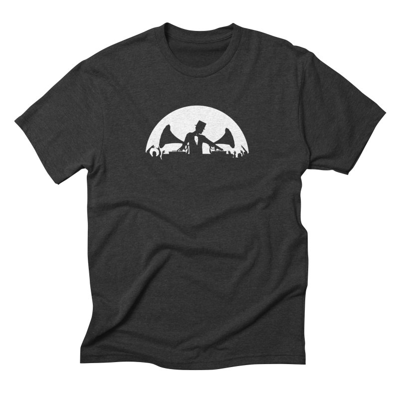 Let's Party Like It's 1923... Full Moon! Men's Triblend T-Shirt by Brother Adam Design
