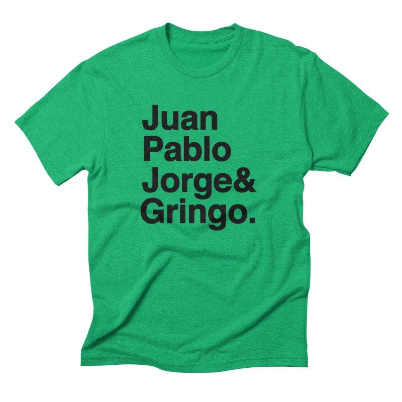 El Fabo Cuatro! Men's Triblend T-Shirt by Brother Adam Design