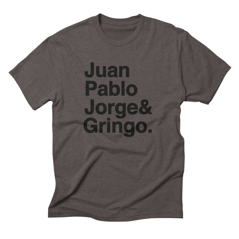 El Fabo Cuatro! Men's Triblend T-Shirt by Brother Adam Design