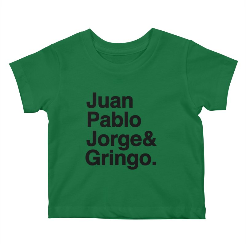 El Fabo Cuatro! Kids Baby T-Shirt by Brother Adam Design