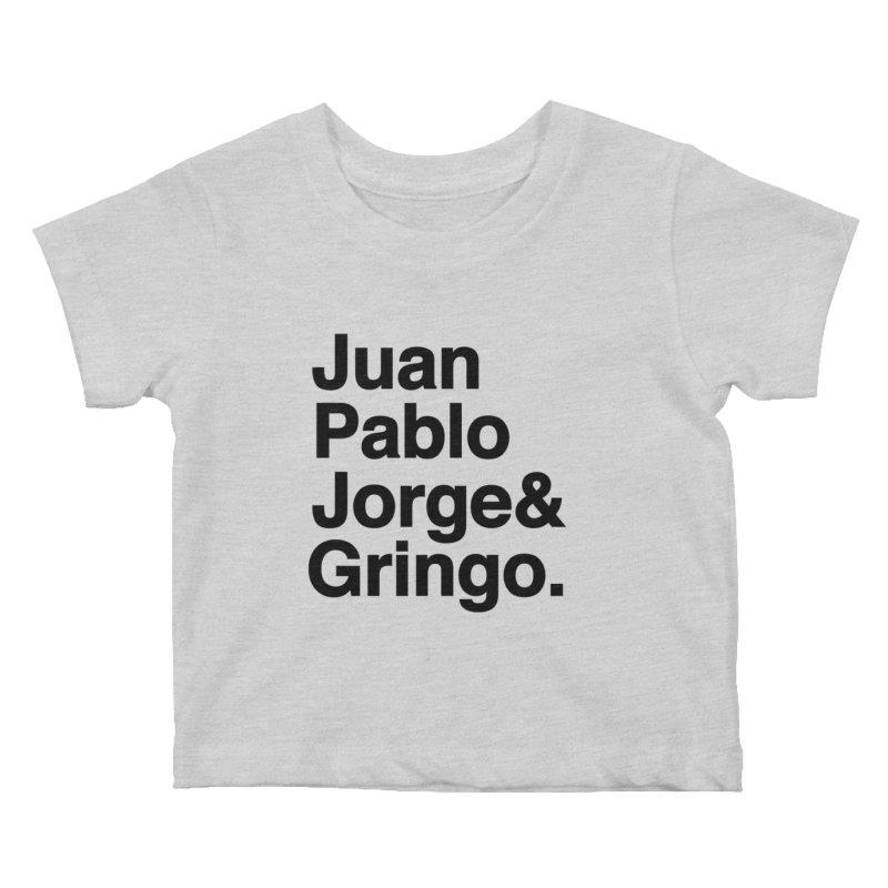 El Fabo Cuatro! Kids Baby T-Shirt by Brother Adam Design
