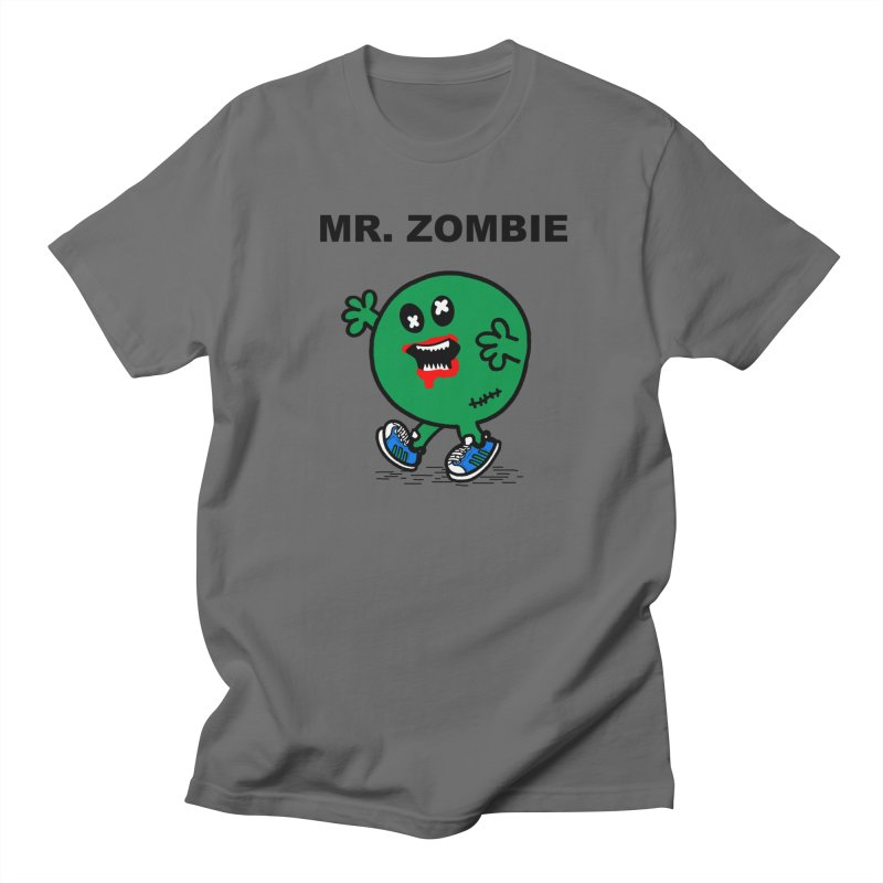 Mr Zombie Men's T-Shirt by Brother Adam Design