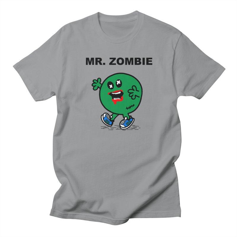 Mr Zombie Women's Regular Unisex T-Shirt by Brother Adam Design