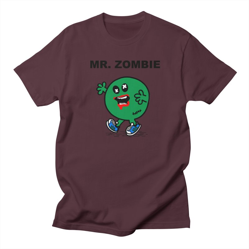 Mr Zombie Men's Regular T-Shirt by Brother Adam Design