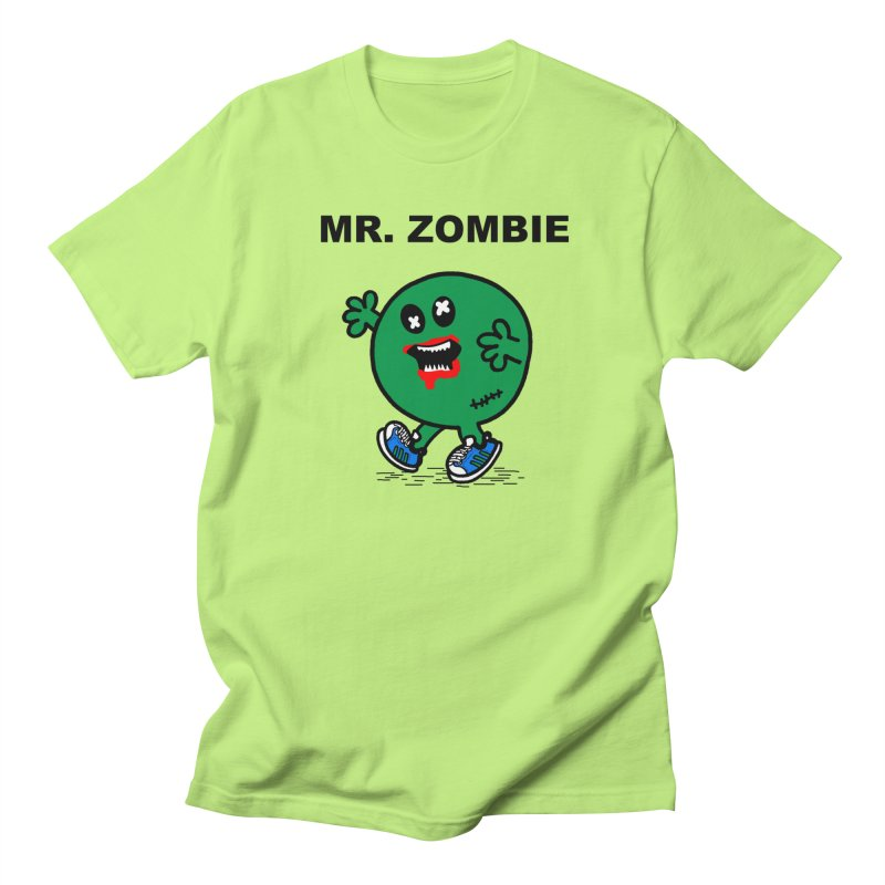 Mr Zombie Women's Regular Unisex T-Shirt by Brother Adam Design