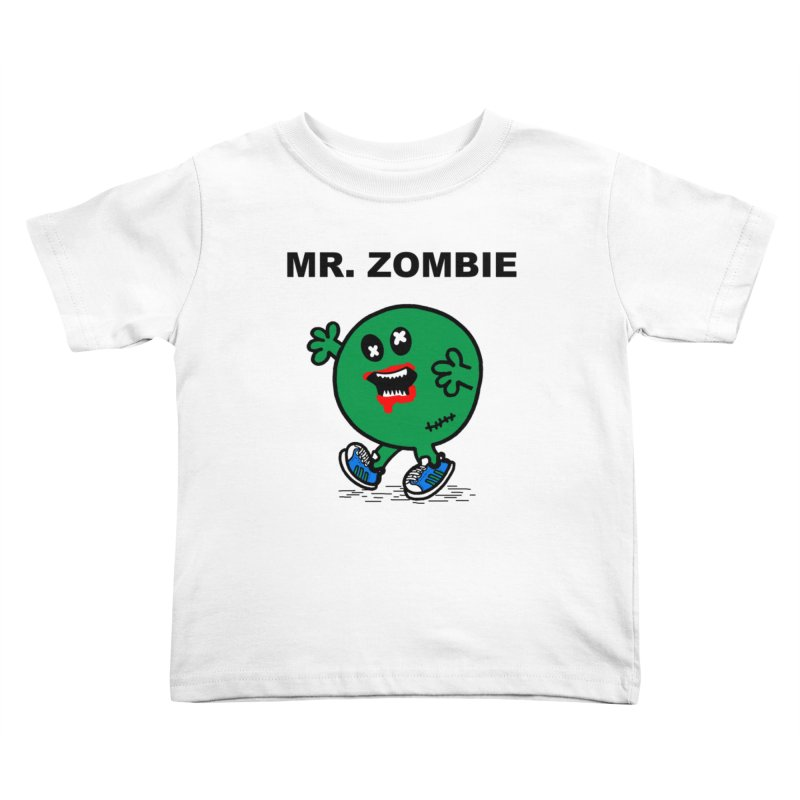 Mr Zombie Kids Toddler T-Shirt by Brother Adam Design