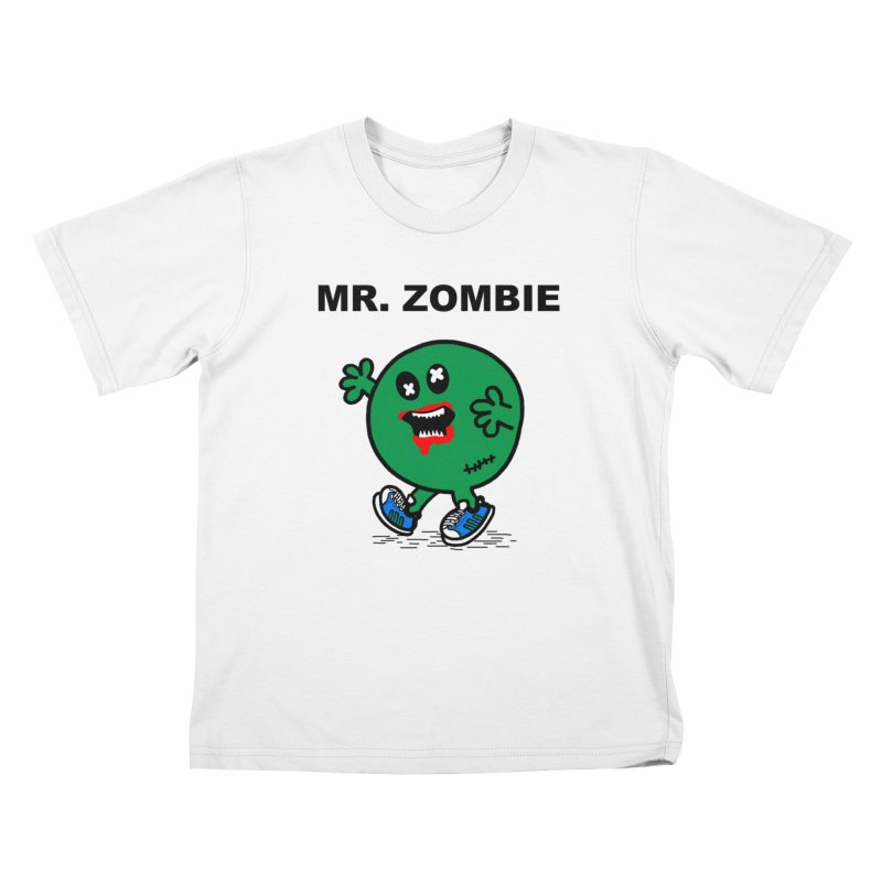 Mr Zombie Kids T-Shirt by Brother Adam Design