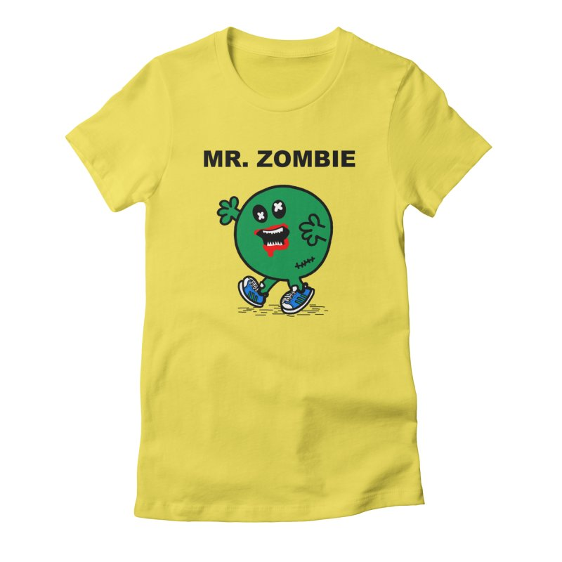 Mr Zombie Women's T-Shirt by Brother Adam Design