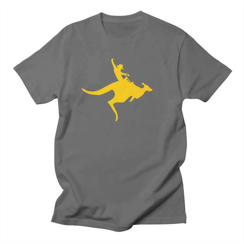 Real Cowboys Roodeo! Men's T-Shirt by Brother Adam Design