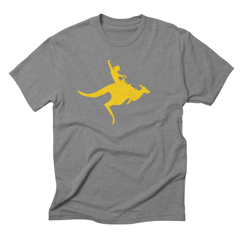 Real Cowboys Roodeo! Men's Triblend T-Shirt by Brother Adam Design