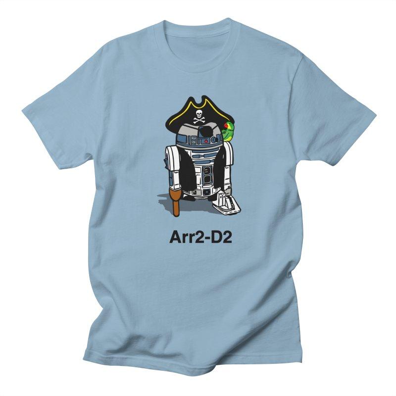 Pirate Droid... Arr2-D2 Women's Regular Unisex T-Shirt by Brother Adam Design