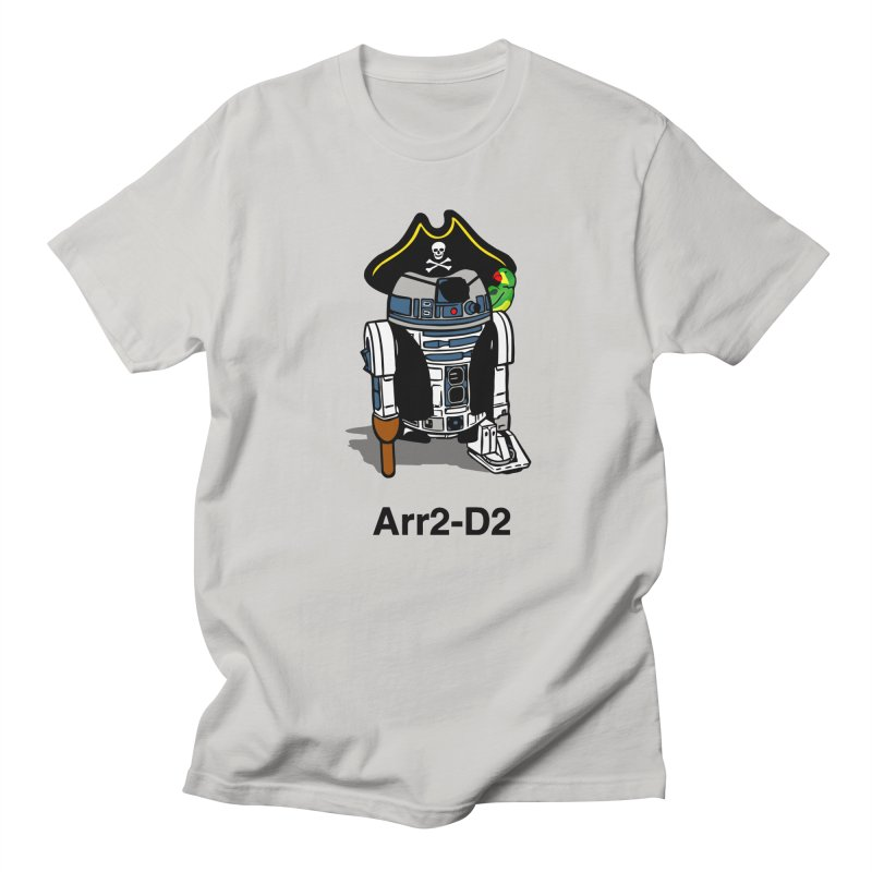 Pirate Droid... Arr2-D2 Men's T-Shirt by Brother Adam Design