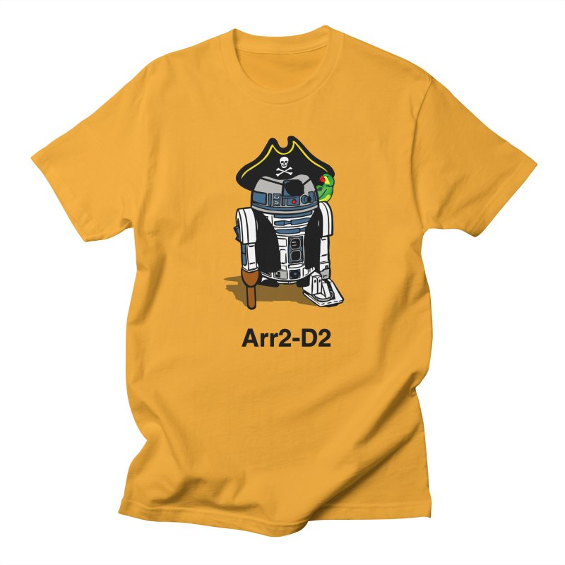 Pirate Droid... Arr2-D2 Women's Regular Unisex T-Shirt by Brother Adam Design