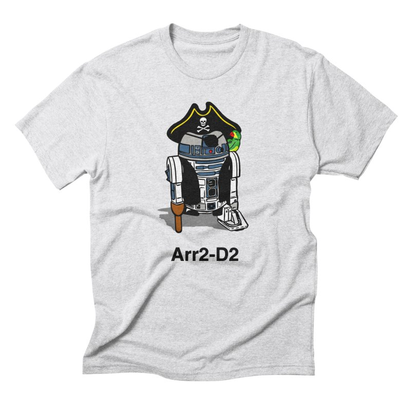 Pirate Droid... Arr2-D2 Men's Triblend T-Shirt by Brother Adam Design