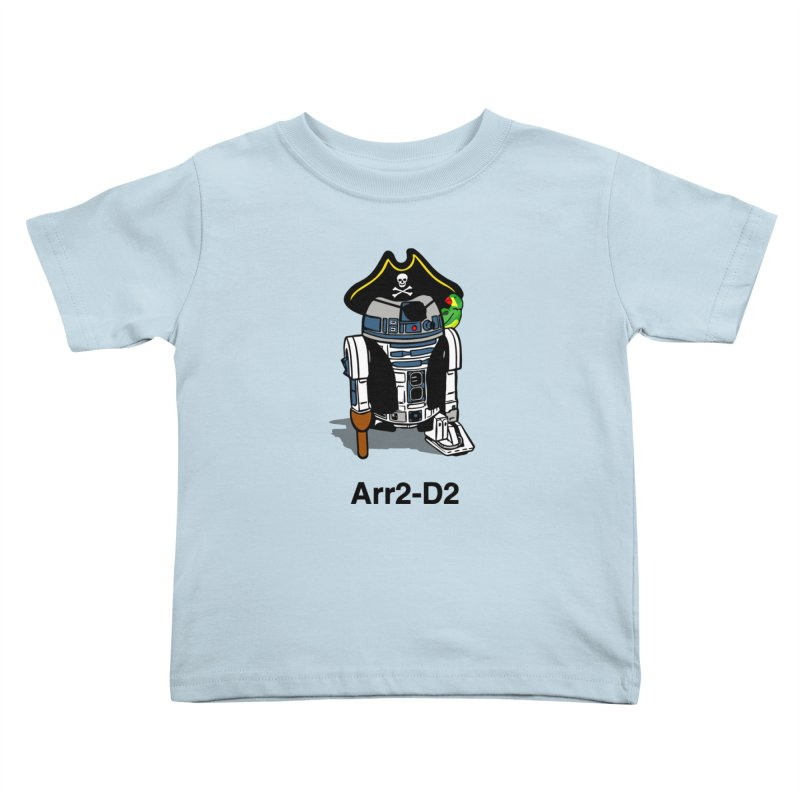 Pirate Droid... Arr2-D2 Kids Toddler T-Shirt by Brother Adam Design