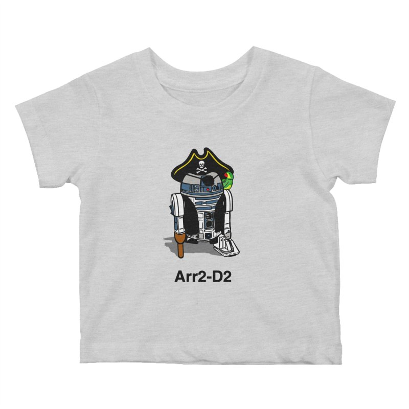 Pirate Droid... Arr2-D2 Kids Baby T-Shirt by Brother Adam Design