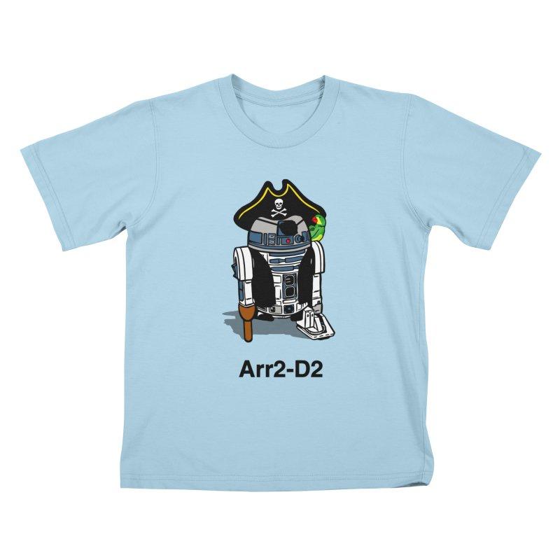 Pirate Droid... Arr2-D2 Kids T-Shirt by Brother Adam Design