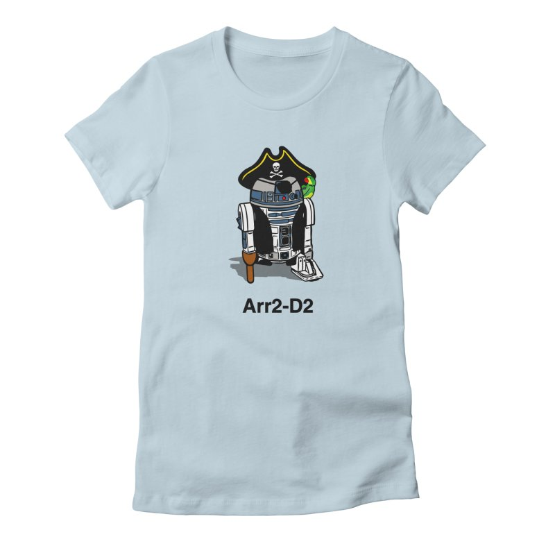 Pirate Droid... Arr2-D2 Women's T-Shirt by Brother Adam Design