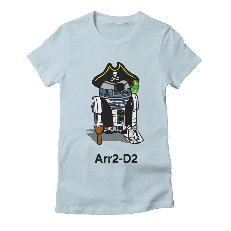 Pirate Droid... Arr2-D2 Women's T-Shirt by Brother Adam Design