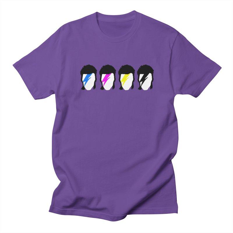 CMYK Stardust Men's T-Shirt by Brother Adam Design