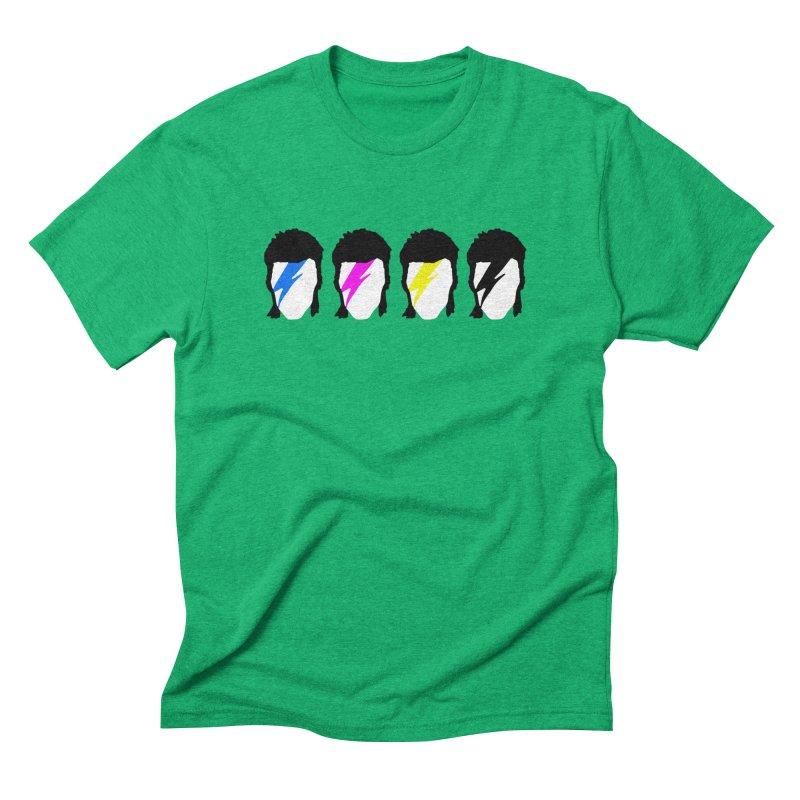 CMYK Stardust Men's Triblend T-Shirt by Brother Adam Design