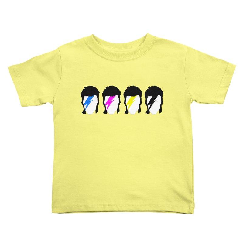 CMYK Stardust Kids Toddler T-Shirt by Brother Adam Design