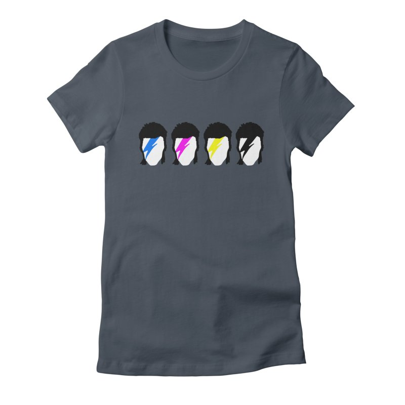 CMYK Stardust Women's T-Shirt by Brother Adam Design