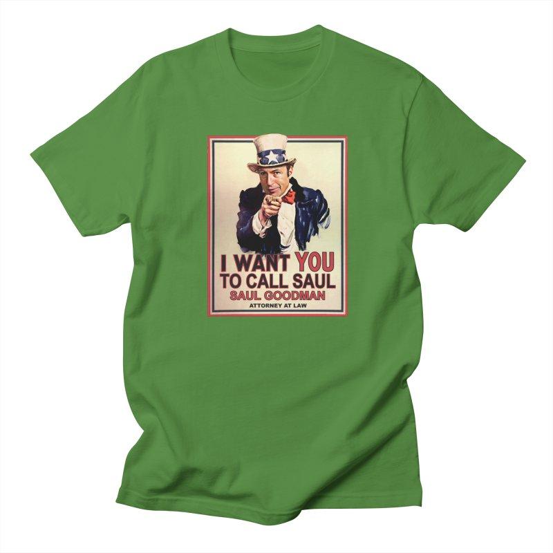 Better Call Saul! Men's Regular T-Shirt by Brother Adam Design