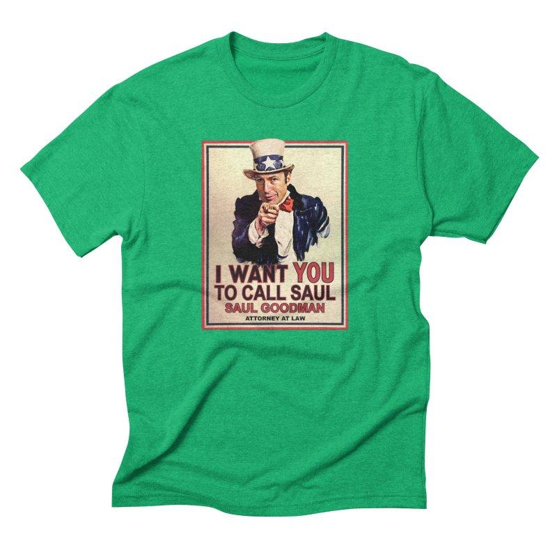 Better Call Saul! Men's T-Shirt by Brother Adam Design