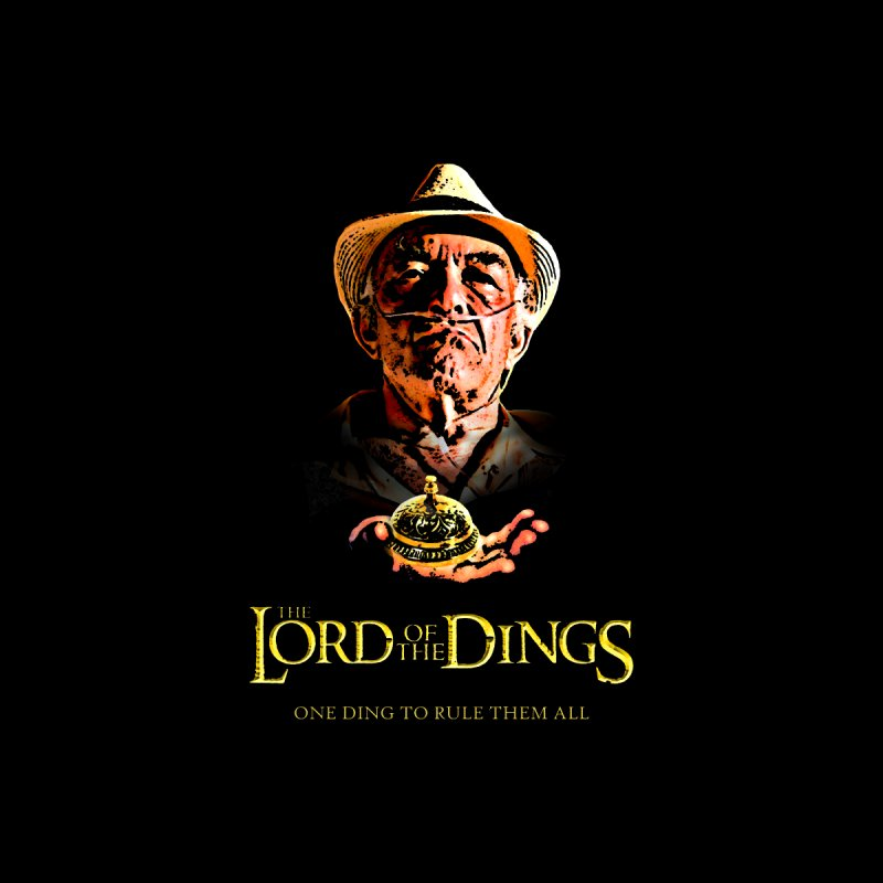 Lord Of The Dings Men's T-Shirt by Brother Adam Design